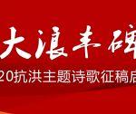 """""""大浪丰碑"""" ——2020抗洪主题系列诗歌(五)"""