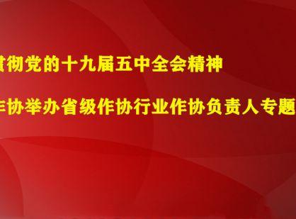中国作协举办省级作协行业作协负责人专题研修班